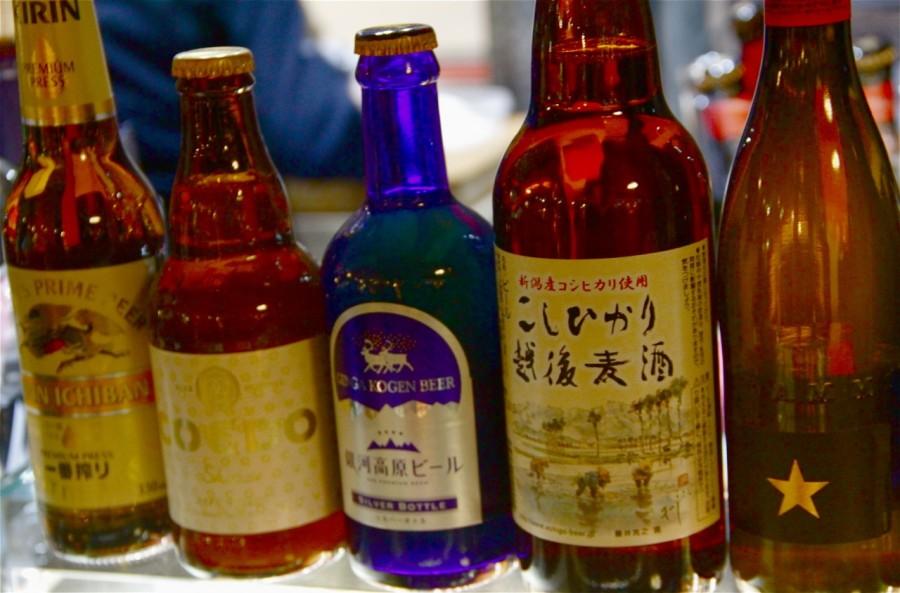 Armonía con cervezas de Japón en Okasan