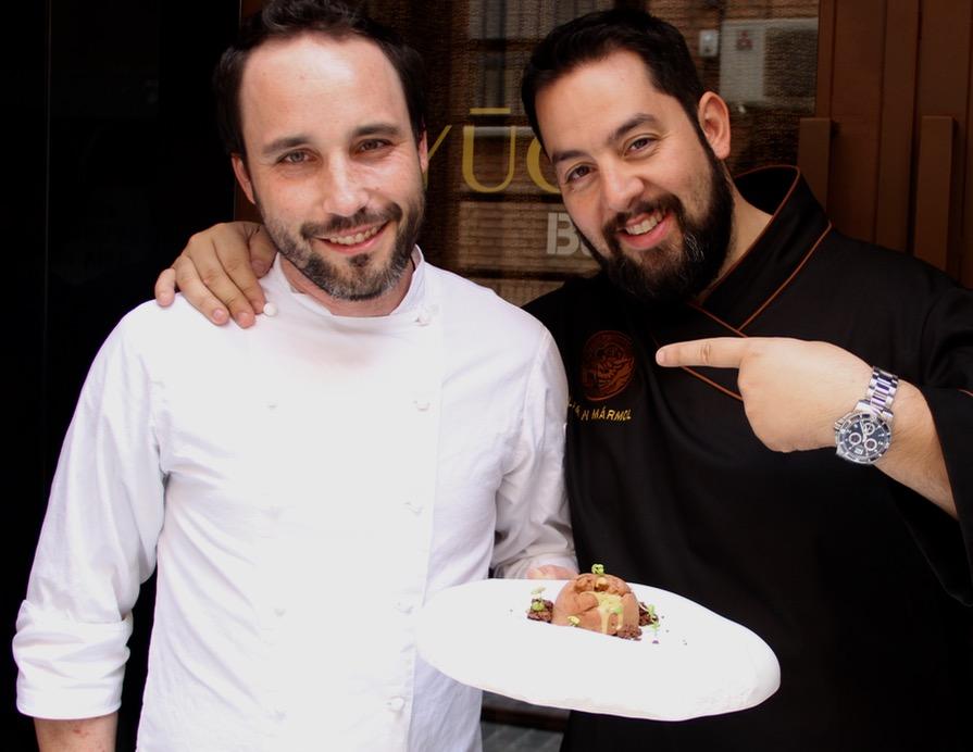 Julián Mármol y Fran Segura descubren los secretos más dulces de Yugo The Búnker