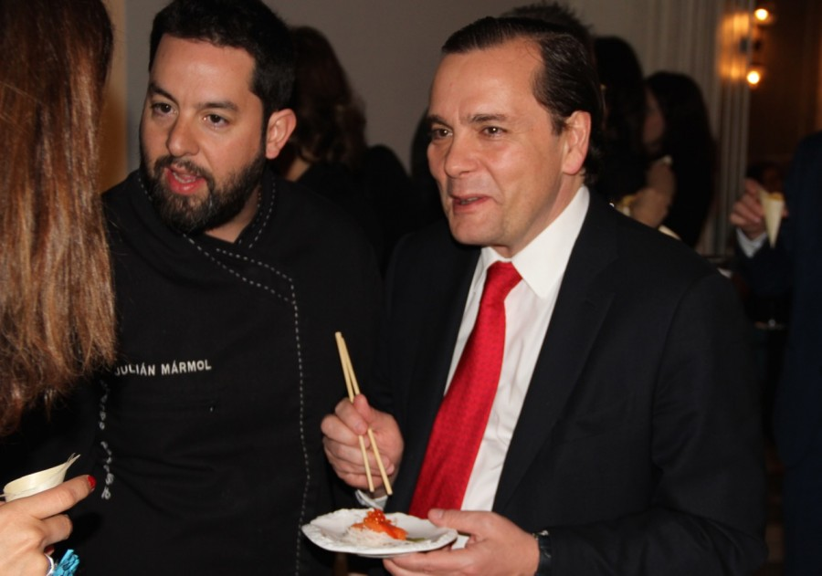 NH Collection Hotels presenta en Roma a Julián Mármol y su nuevo Restaurante Kyushu de Amalfi