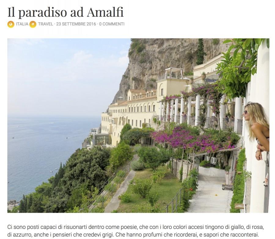 Chiara cuenta su experiencia con el Chef Julián Mármol en Kyüshü (Amalfi)
