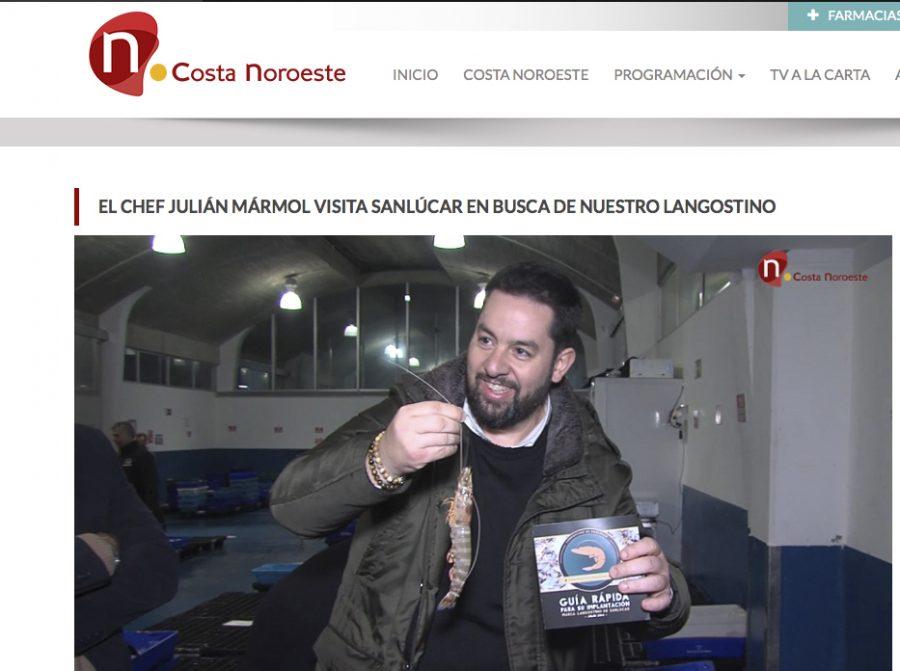 Julián Mármol y el Langostino de Sanlúcar